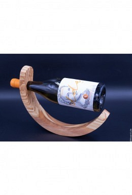 Edler Weinhalter aus Olivenholz