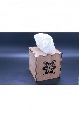 Kosmetiktücher-Box quadratisch
